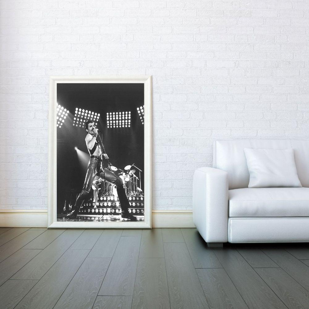 Freddie Mercury Queen Decorative Arts Prints & Posters Wall Art Inside Freddie Mercury Wall Art (Image 5 of 20)