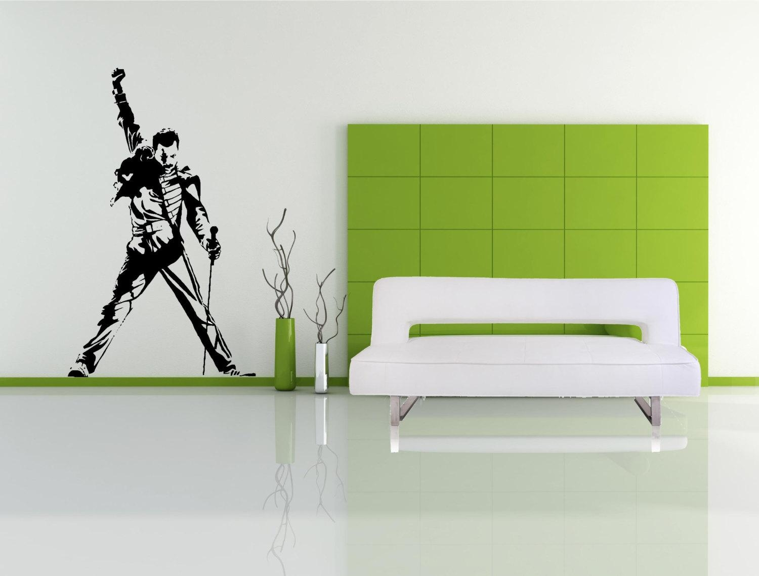 Featured Image of Freddie Mercury Wall Art