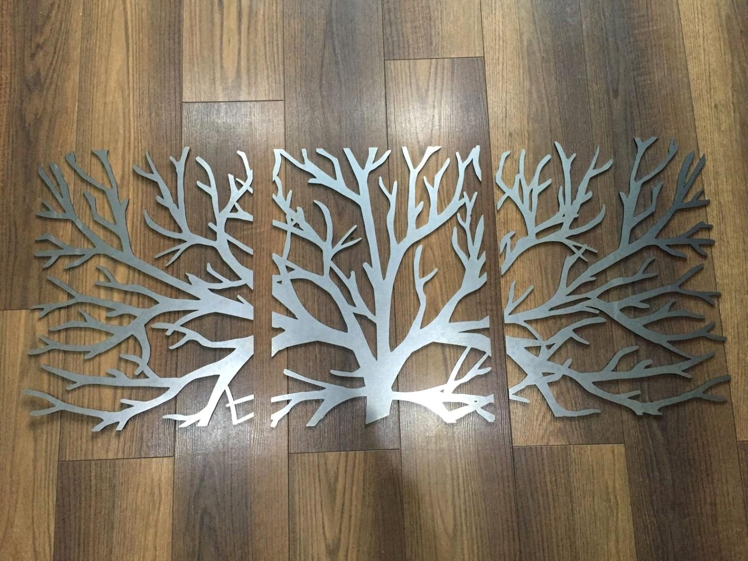 Fresh 3D Wall Art And Decor With Palm Tree Metal Art (Image 8 of 20)