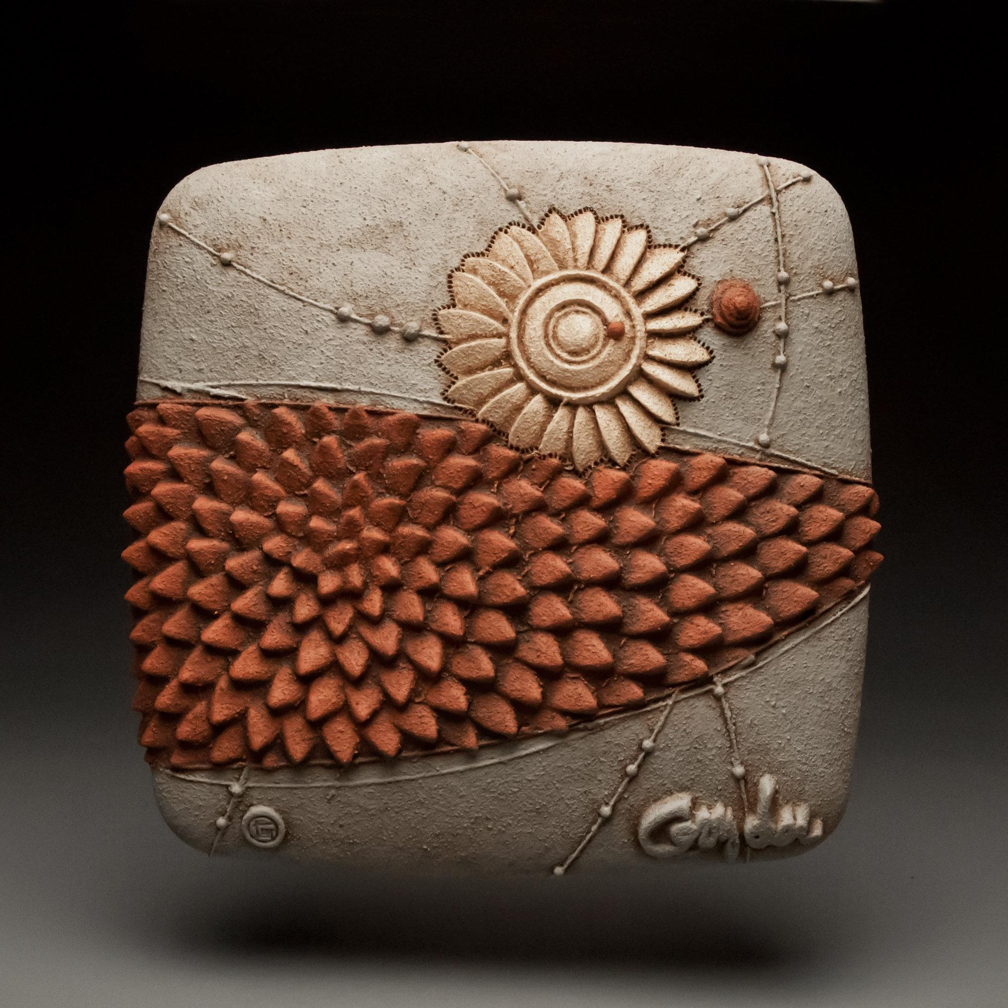 Fresh Movechristopher Gryder (Ceramic Wall Sculpture) | Artful With Regard To Large Ceramic Wall Art (View 8 of 20)