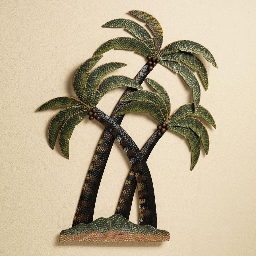 Fresh Tropical Outdoor Wall Decor   Jeffsbakery Basement & Mattress Throughout Palm Leaf Wall Decor (Image 8 of 20)