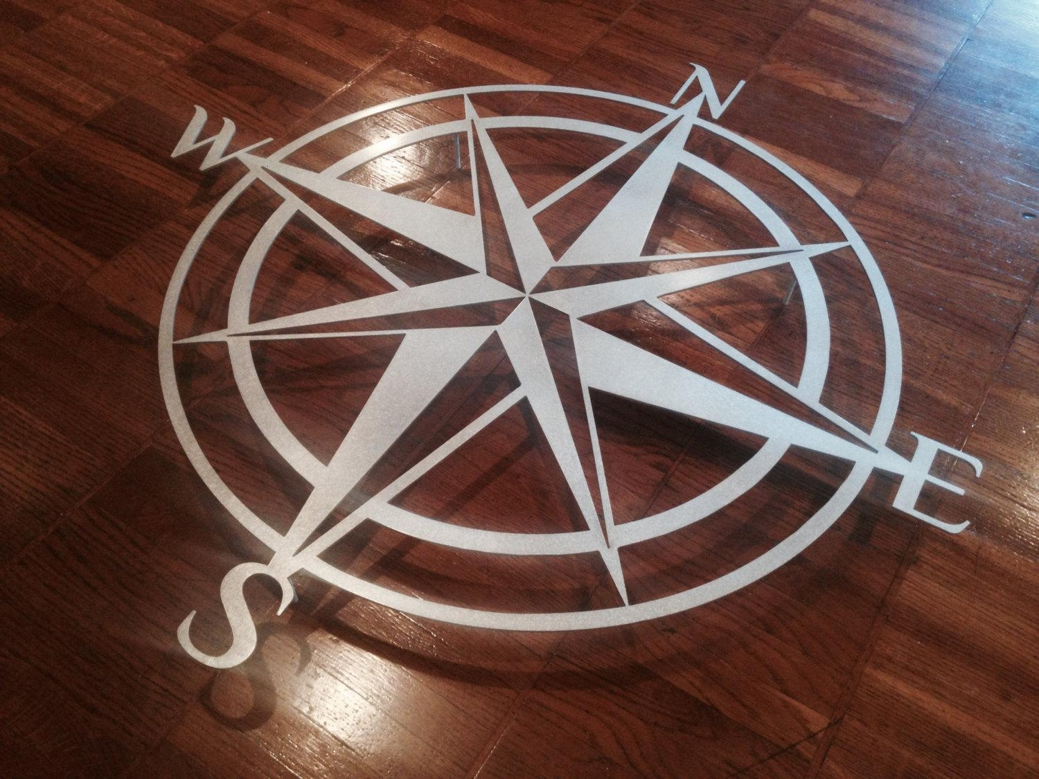 Garden Compass Wall Decor : Outdoor Compass Wall Decor – Design Pertaining To Large Metal Wall Art For Outdoor (Image 8 of 20)