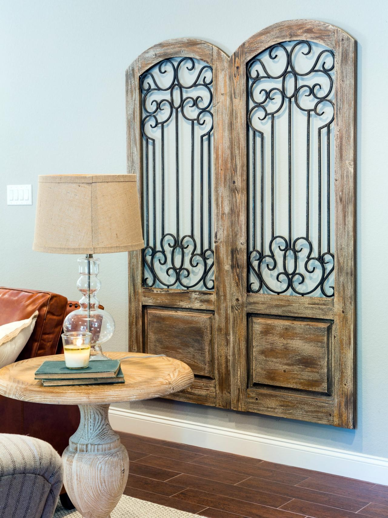 Garden Gate Wall Decor – Home Design And Decorating with regard to Metal Gate Wall Art