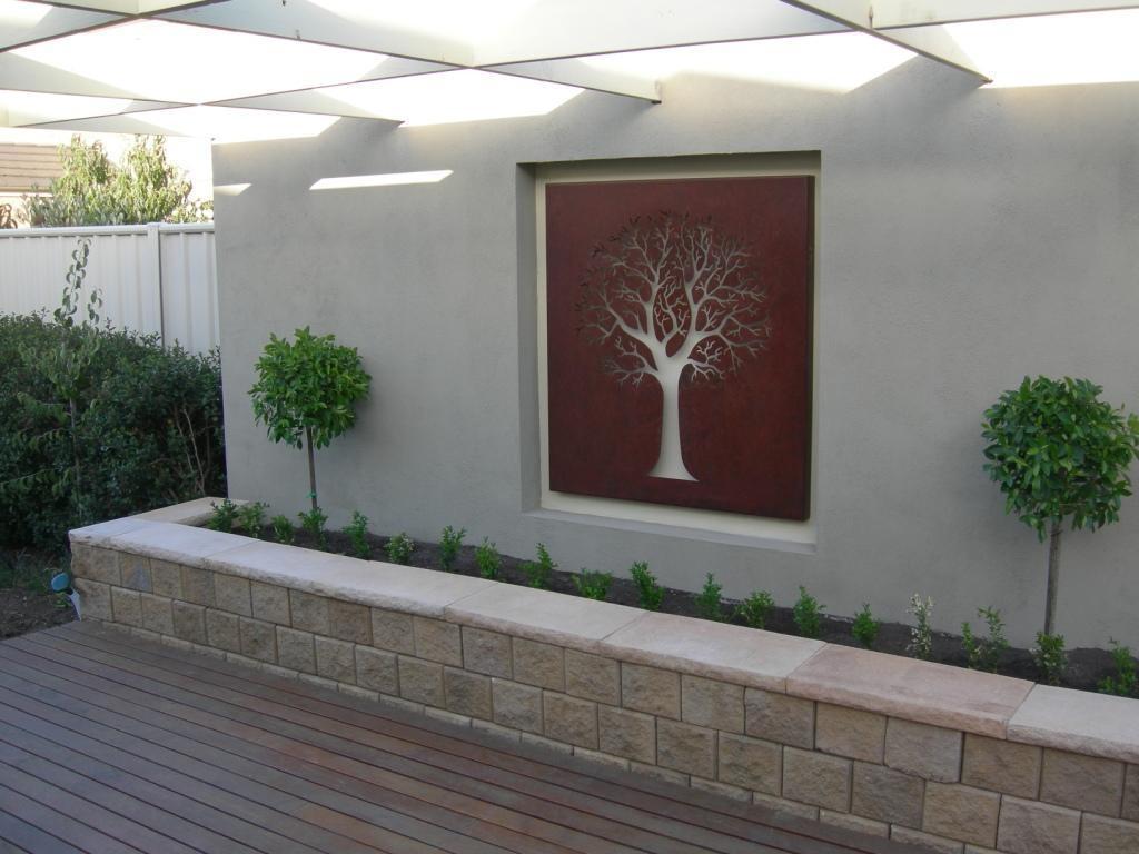 Garden Wall Art – Wilson Rose Garden inside Garden Wall Art