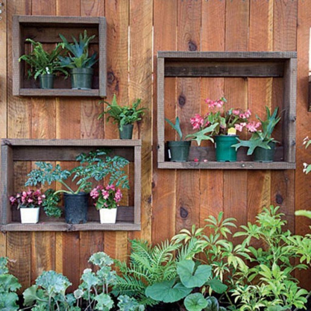 Garden Wall Decoration Ideas 25 Incredible Diy Garden Fence Wall Intended For Diy Garden Wall Art (Image 15 of 20)
