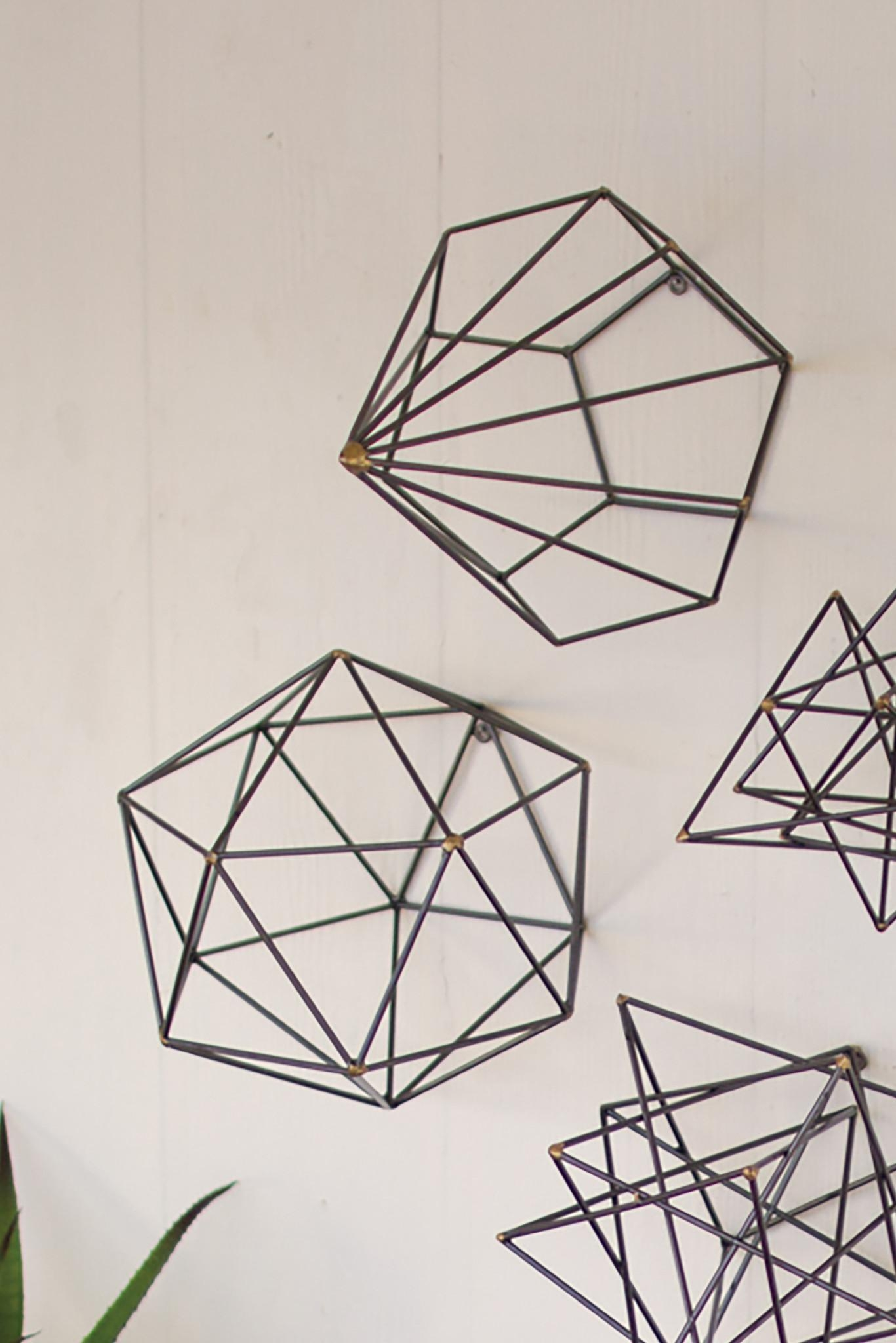 Geometric Metal Wall Art Elegant Diy Wall Art For Oversized Wall Intended For Oversized Metal Wall Art (Image 8 of 23)