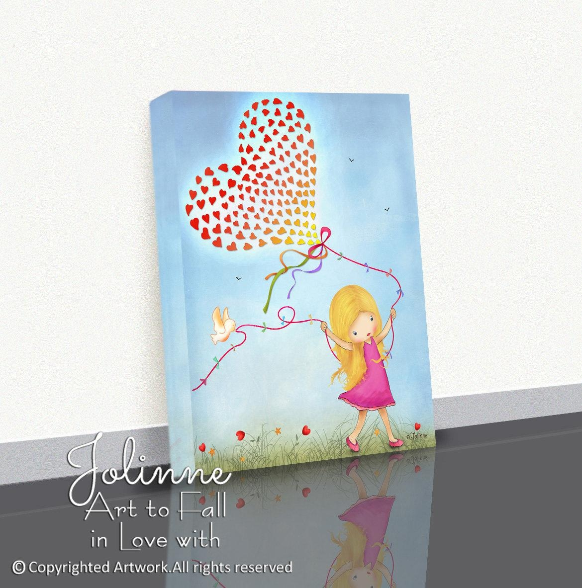 Girls Canvas Wall Art Art Prints On Canvas Canvas Posters For Girls Canvas Wall Art (Image 16 of 20)