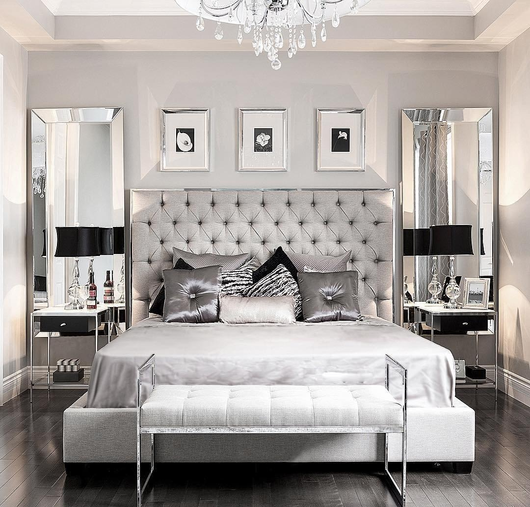 Glamorous Bedroom Decor Ideas Decorating Old Hollywood Glamour Diy Intended For Glamorous Wall Art (Image 7 of 20)
