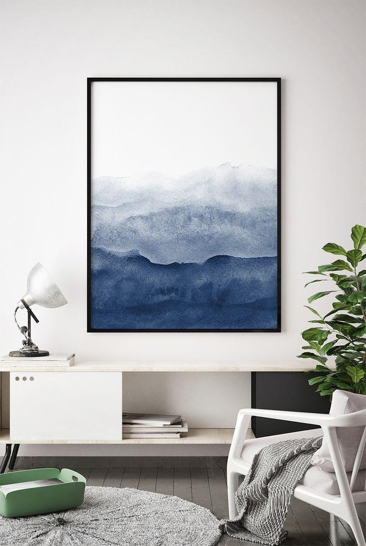 Gorgeous Blue Wall Art Prints Wall Art Blue Duck Egg Blue Wall Art Within Blue Wall Art (View 20 of 20)
