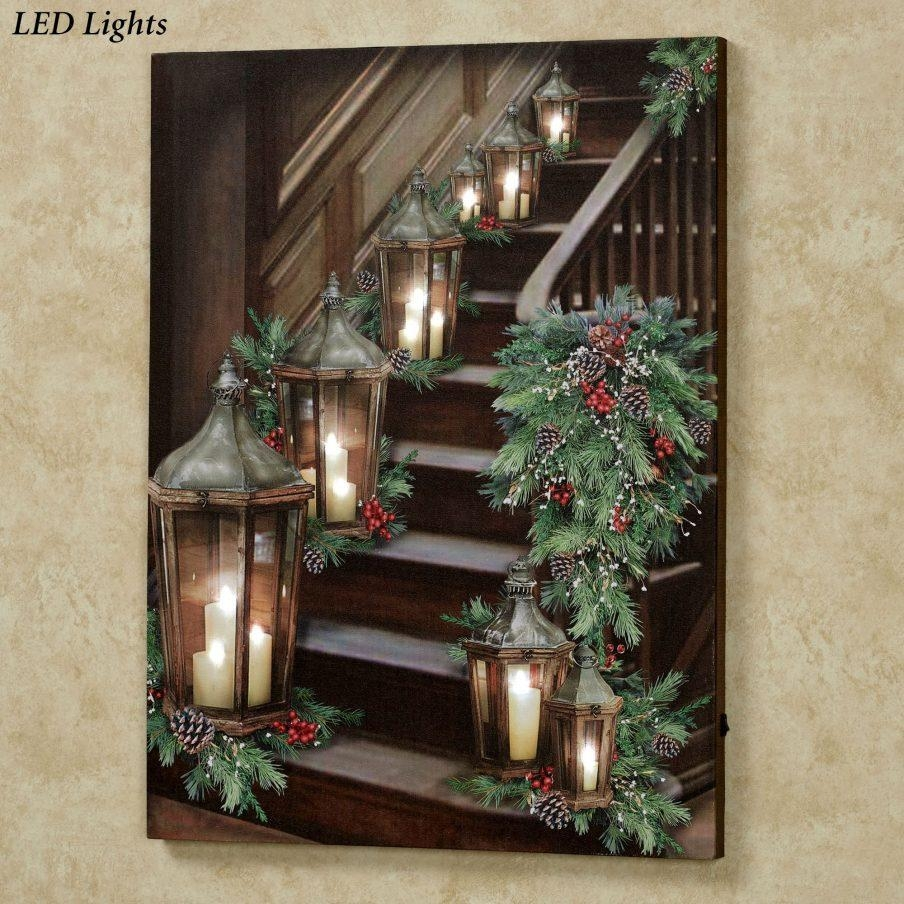 Gorgeous Wall Decor Americana Lighted Canvas Lighted Canvas Prints Intended For Country Canvas Wall Art (View 13 of 20)