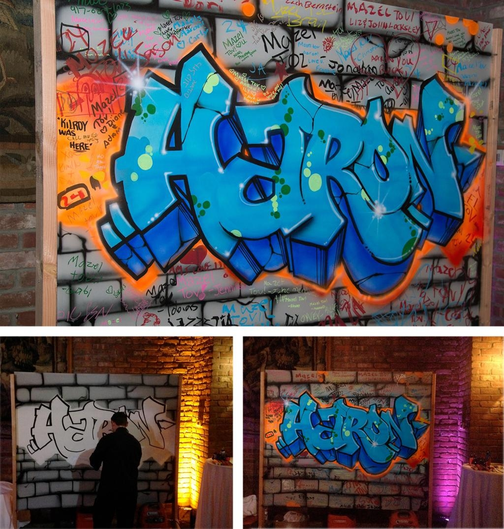 Graffiti Artists For Hire – Agency For Street Art, Graffiti Art Inside Personalized Graffiti Wall Art (Image 8 of 20)