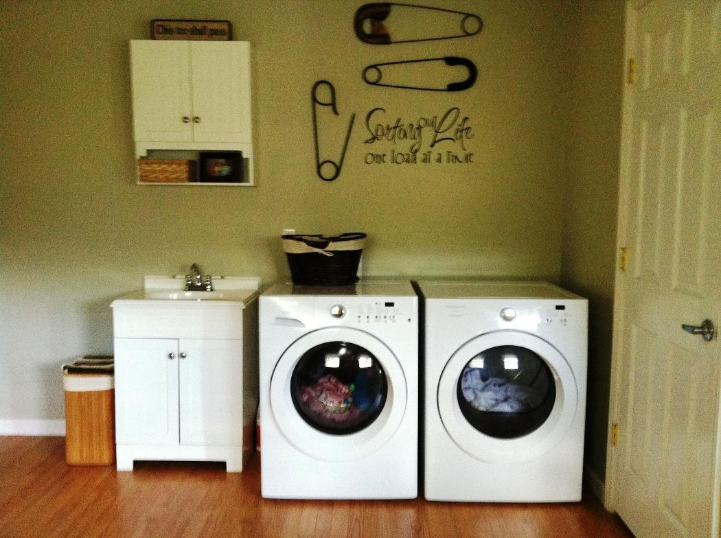 Guide To Laundry Room Decor Everyone Should Know | The Latest Home Intended For Laundry Room Wall Art Decors (View 4 of 20)