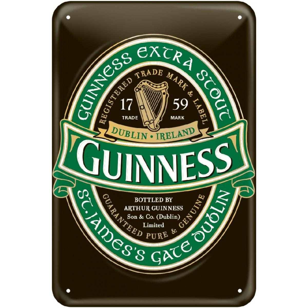 Guinness® Green Collection Wall Art with regard to Ireland Metal Wall Art