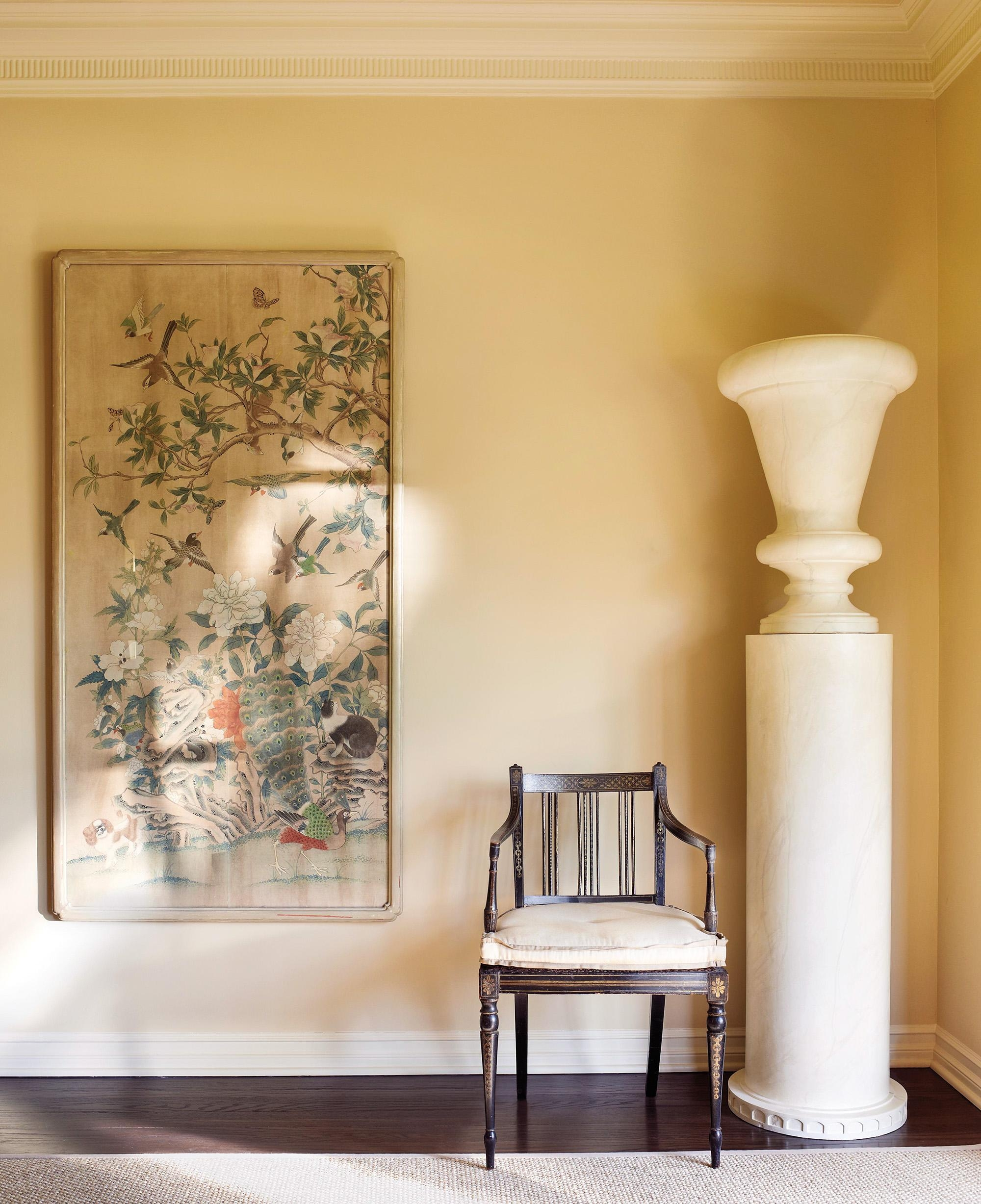 Hand Painted & Chinoiserie Wall Panels :: This Is Glamorous in Chinoiserie Wall Art