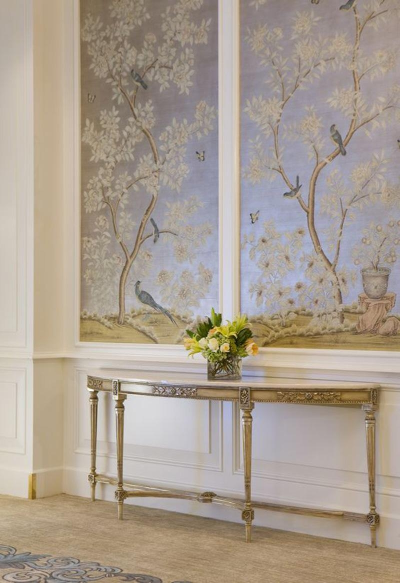 Hand Painted & Chinoiserie Wall Panels :: This Is Glamorous with Chinoiserie Wall Art