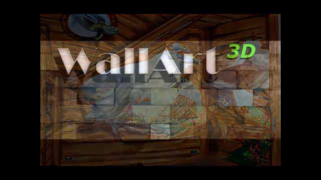 Hand Painted Murals, Illusion Painting On The Walls In Airbrush With Airbrush Wall Art (Image 12 of 20)