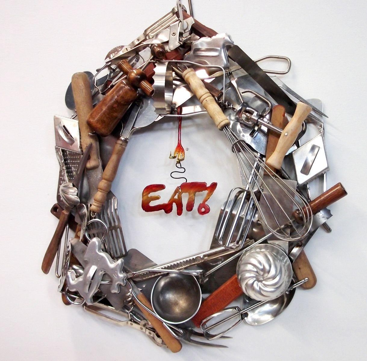 Handmade Home Decor, Custom Wreaths, Wall Art $100 – 500, Recycled Within Recycled Wall Art (Image 8 of 20)