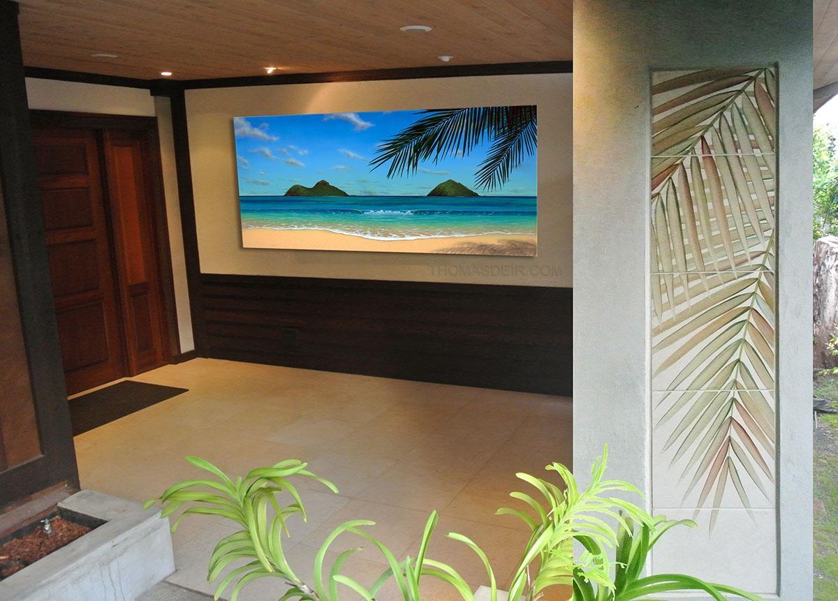 Hawaii Wall Art Popular Wall Art Decor On Wood Wall Art - Home inside Hawaiian Wall Art Decor