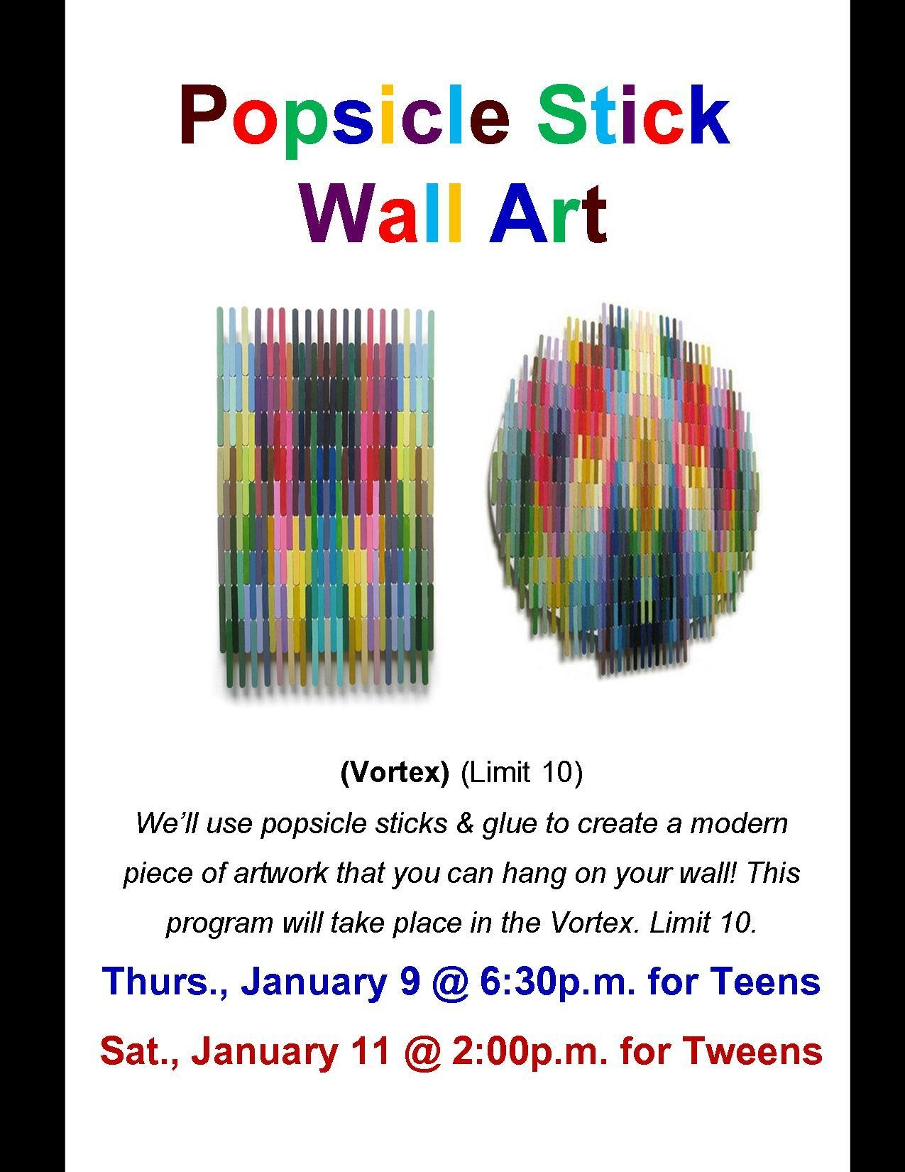 Hey Teens And Tweens, There's Still Room To Sign Up For Our Regarding Wall Art For Teens (Image 10 of 20)