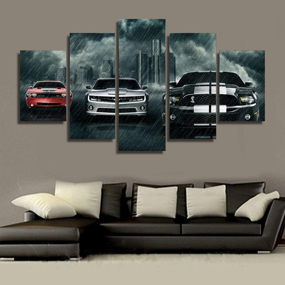 High Quality Classic Car Art Promotion Shop For High Quality Regarding Classic Car Wall Art (Image 8 of 20)