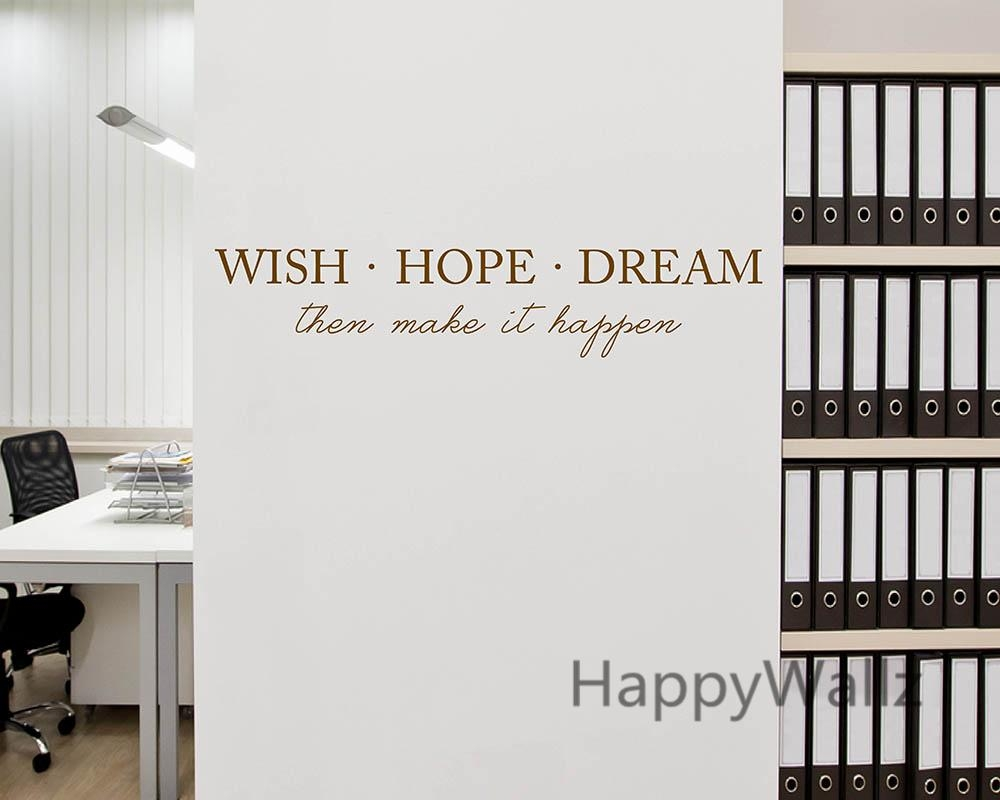 High Quality Office Inspiration Decals Buy Cheap Office Pertaining To Inspirational Wall Decals For Office (Image 15 of 20)