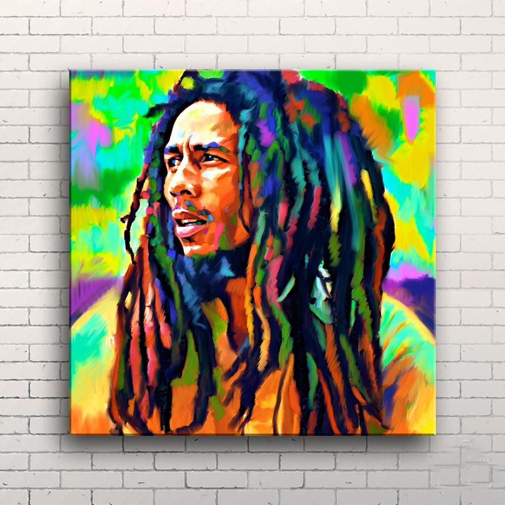 High Quality Paintings Bob Marley Buy Cheap Paintings Bob Marley In Bob Marley Canvas Wall Art (View 19 of 20)