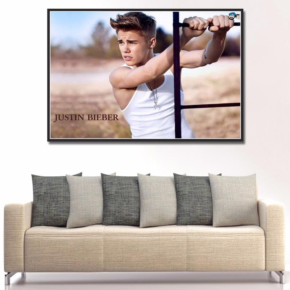 High Quality Poster Justin Bieber Buy Cheap Poster Justin Bieber With Justin Bieber Wall Art (View 20 of 20)