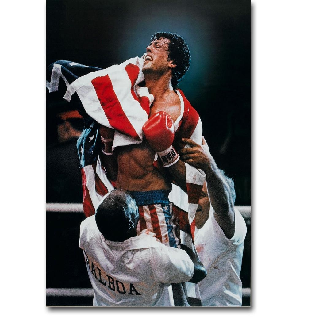 High Quality Rocky Balboa Wall Art Buy Cheap Rocky Balboa Wall Art For Rocky Balboa Wall Art (Image 5 of 20)