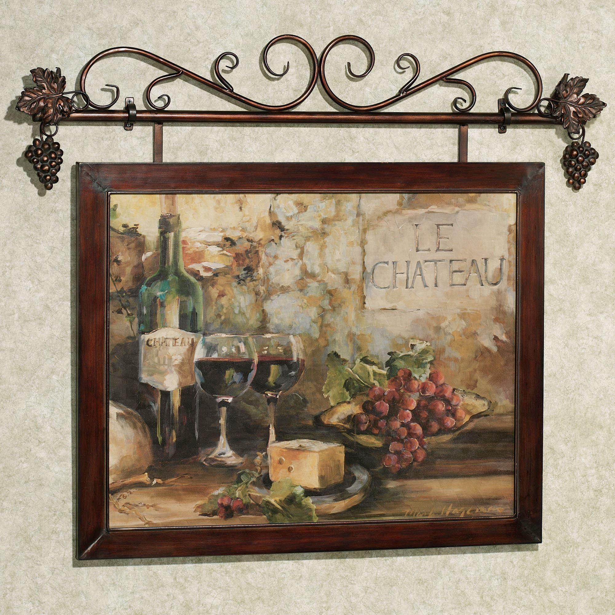 Home Art Framed Art Prints Riverwalk Charm Framed Wall Art Picture intended for Brown Framed Wall Art