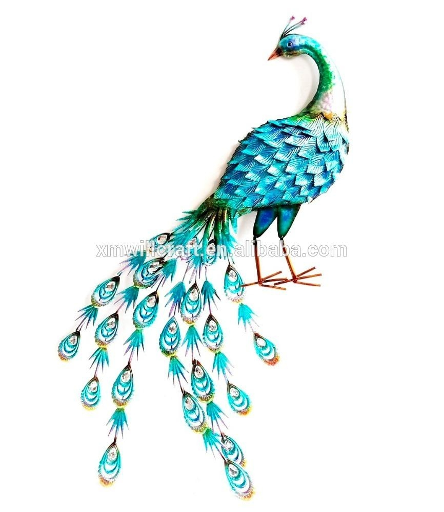 Home Decor Peacock Metal Wall Art – Buy Metal Wall Art,home Decor With Regard To Peacock Metal Wall Art (View 11 of 20)