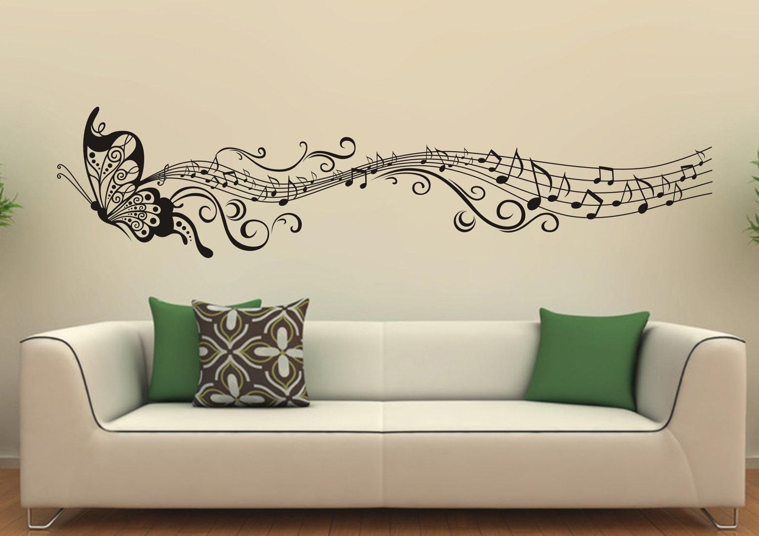 Home Decor Wall Art Also With A Contemporary Wall Decor Also With inside Music Themed Wall Art