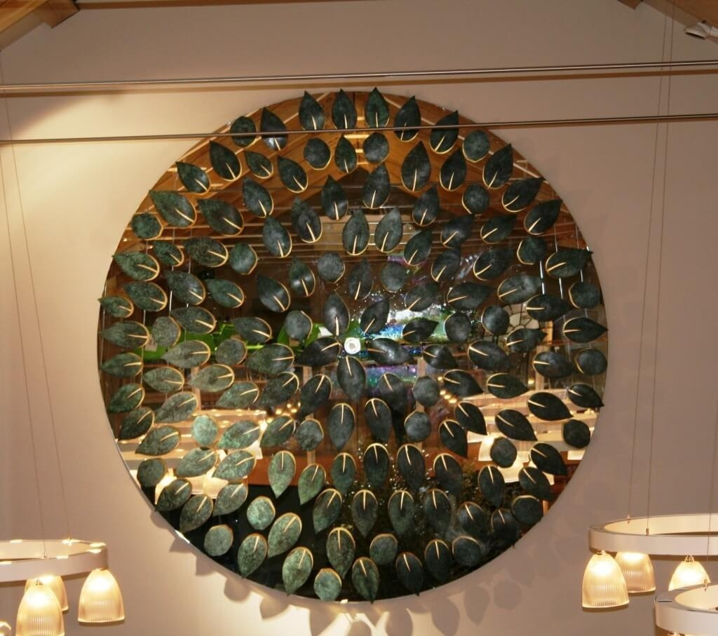 Home Decoration: Fabulous Contemporary Mirror Wall Art And In Large Round Wall Art (Image 6 of 20)