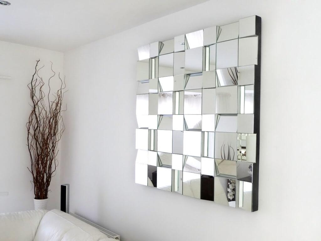 Home Decoration Small Decorative Wall Mirrors With Sunburst Wall For Wall Art Mirrors Contemporary (Image 8 of 20)