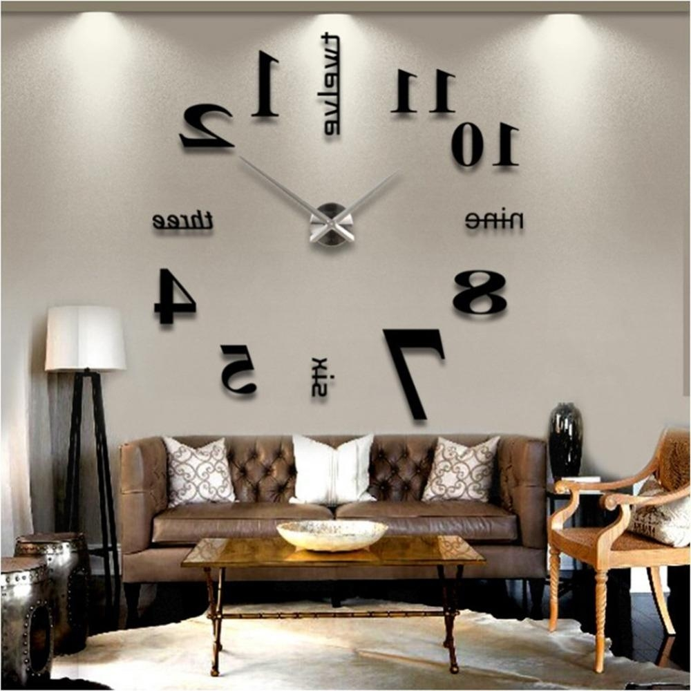Home Design : 93 Amazing Large Metal Wall Clocks In Cheap Metal Wall Art (Image 7 of 20)