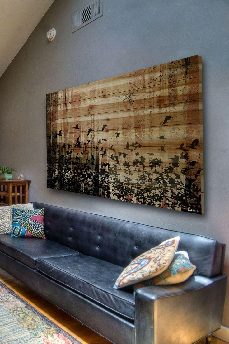 Home Design Ideas: Large Wall Art Ideas Diy Cheap For Living Room With Oversized Wall Art (View 12 of 20)