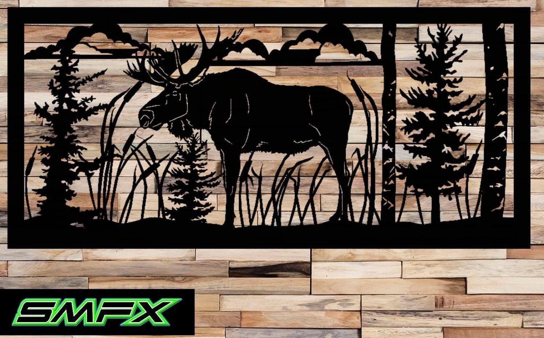 Home Design : Rectangle Metal Wall Art Decorators Garage Doors regarding Bamboo Metal Wall Art
