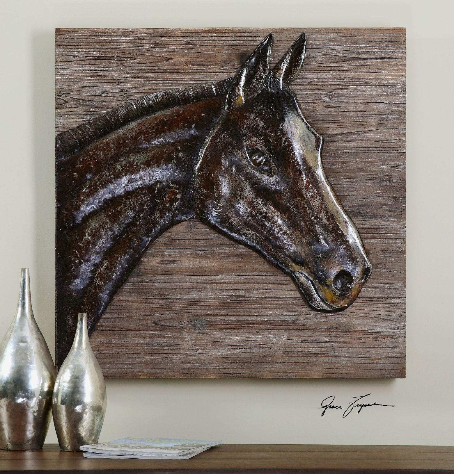 Home Design : Rustic Wood And Metal Wall Art Modern Large Rustic throughout Asian Metal Wall Art