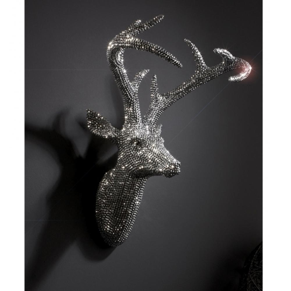 Home Design : Stag Head 3 1000X1000 Within Deer Wall Mount 85 With Regard To Stag Head Wall Art (Image 10 of 20)