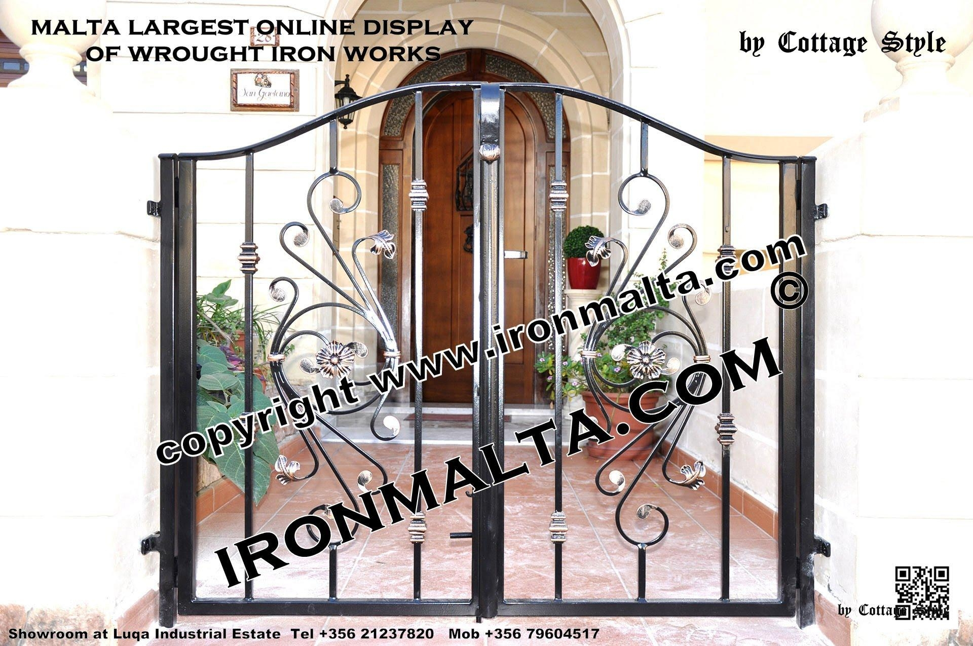 Home Front Wall Iron Gates Design Ideas Malta, Remodel And Decor Inside Metal Gate Wall Art (Image 7 of 20)