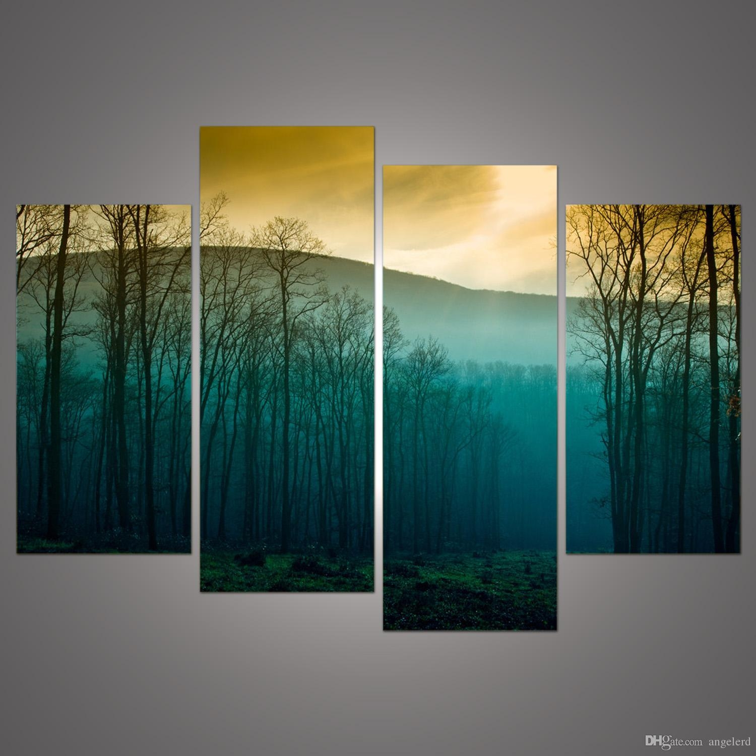Hot Sale! Modern Abstract Huge Wall Art Painting On Canvas Intended For Huge Wall Art (Image 12 of 20)
