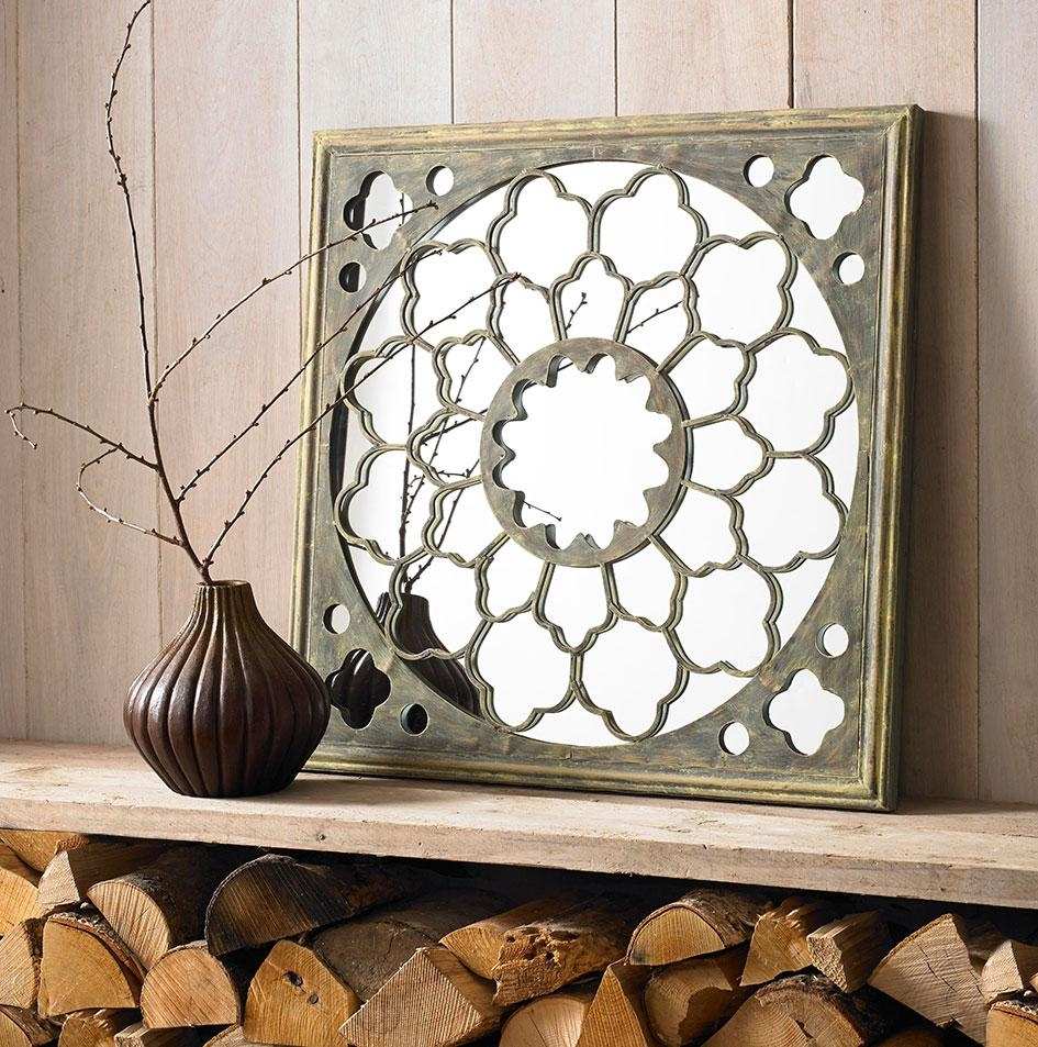 How To Decorate Rooms That Lack Natural Light regarding Fretwork Wall Art