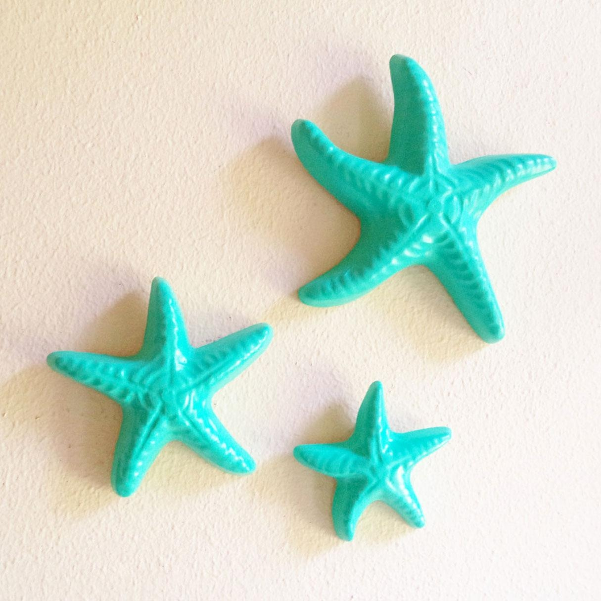 How To Do Starfish Wall Decor | Design Ideas And Decor for Large Starfish Wall Decors