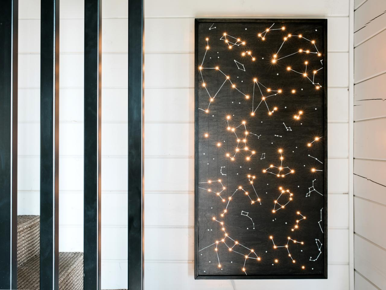 How To Make Illuminated Wall Art | How Tos | Diy With Regard To Wall Art Lighting (Image 10 of 20)