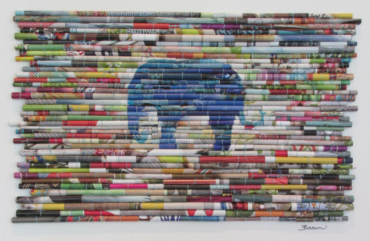 How To Recycle: Recycled Wall Art Designs With Regard To Recycled Wall Art (Image 10 of 20)