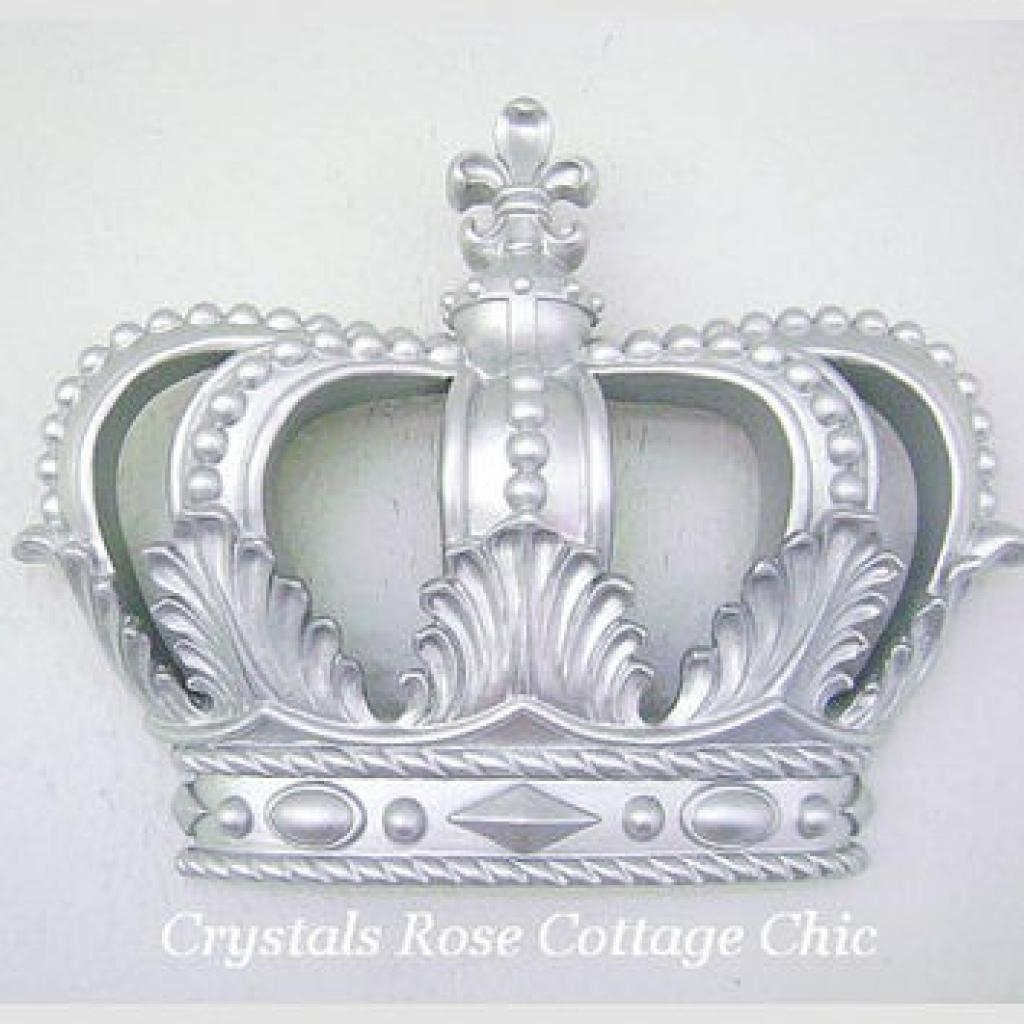 I Love This Totally!! Cream Pink Princess Crown 3D Wall Art Decor Throughout Princess Crown Wall Art (Image 12 of 20)