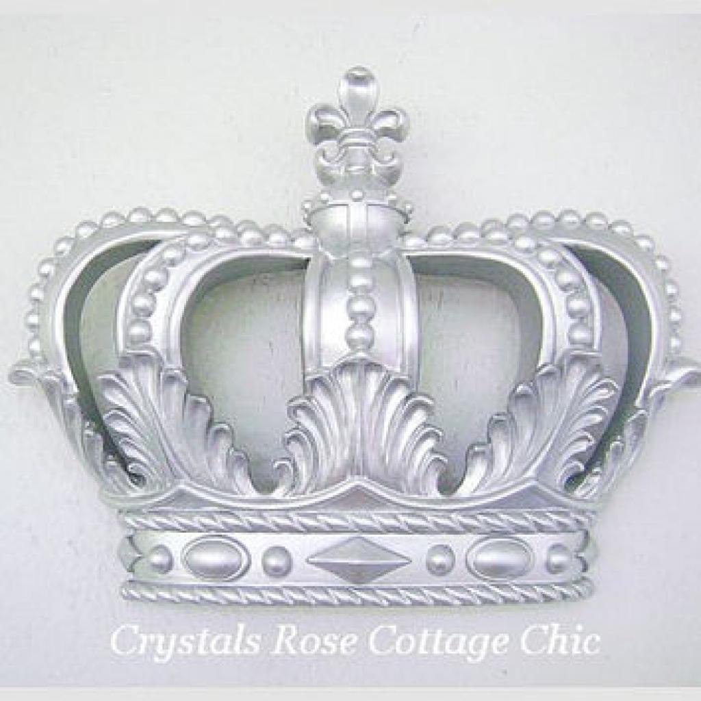 I Love This Totally!! Cream Pink Princess Crown 3D Wall Art Decor throughout Princess Crown Wall Art