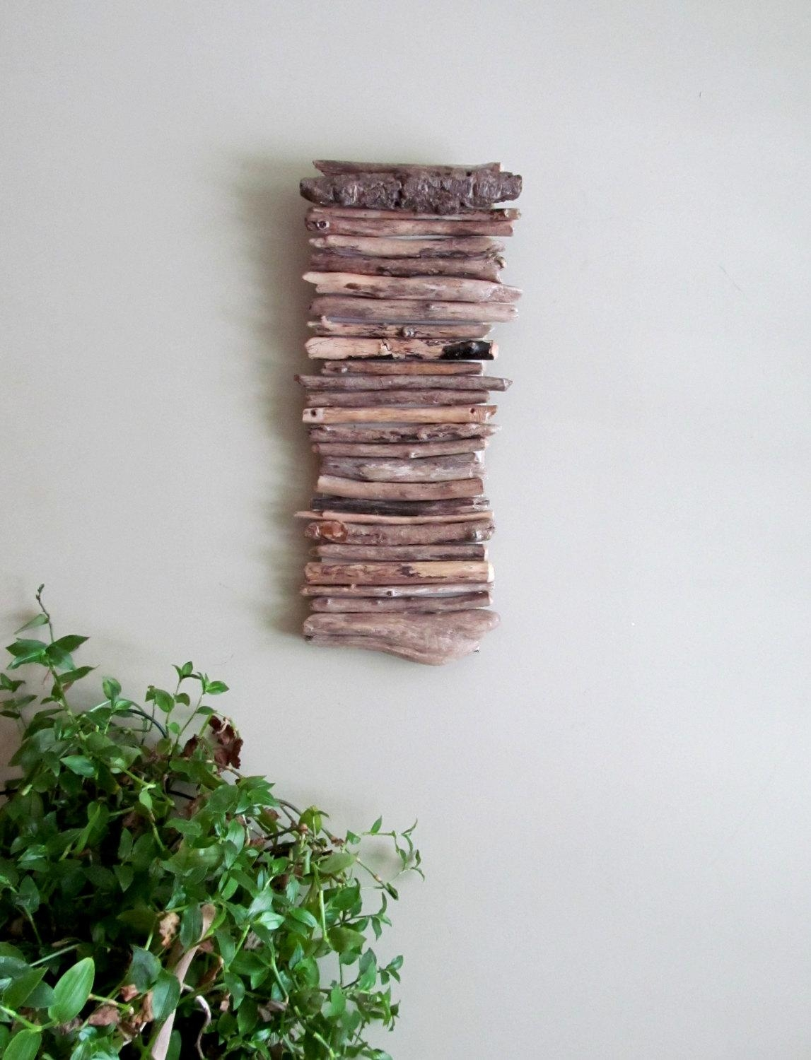 Image Gallery Driftwood Wall Decor - Home Decor Ideas within Driftwood Wall Art for Sale