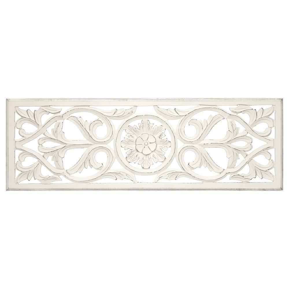 Imposingood Carvedall Decor Photos Design Asian Art Panel 3X3Ft inside White Wooden Wall Art
