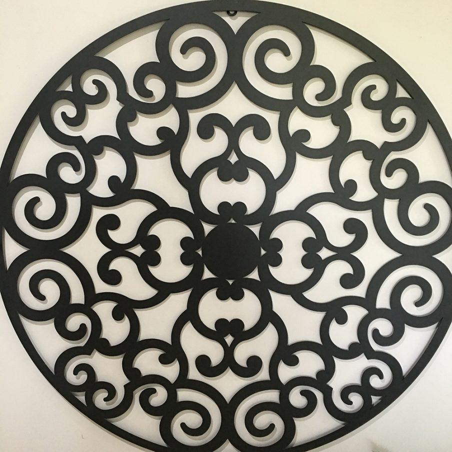 Impressive Large Round Metal Wall Decor Unique Design Wall Metal With Regard To Large Round Wall Art (View 8 of 20)
