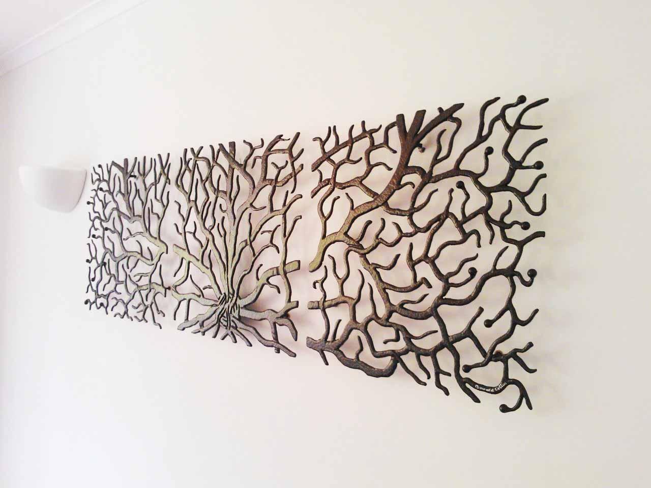 Innovative Large Metal Tree Wall Decoration 128 Oak Tree Large intended for Metal Oak Tree Wall Art